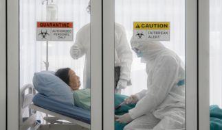 In Ecuador wurde eine Corona-Patientin fälschlicherweise für tot erklärt. (Foto)