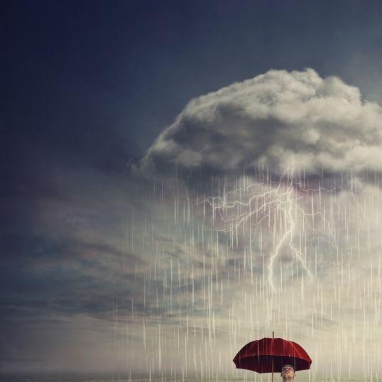 Unwetter-Horror! Experten warnen vor Stürmen und Überschwemmungen (Foto)