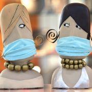 So stylish schützen sich die Promis in der Coronakrise (Foto)