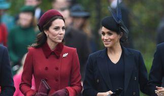 Auf ihre Schwägerin Kate Middleton ist Meghan Markle nicht allzu gut zu sprechen. (Foto)