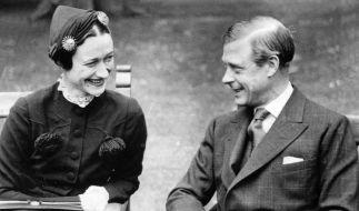 Wallis Simpson und der frühere König Edward VIII. waren 35 Jahre lang verheiratet, doch ihre Ehe blieb kinderlos. (Foto)