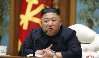 Um die Machenschaften des nordkoreanischen Machthabers Kim Jong-un ranken sich die abenteuerlichsten Gerückte. (Foto)