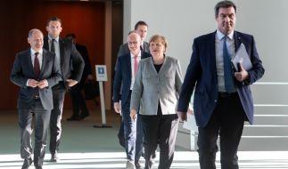 Bund und Länder wollen über das weitere Vorgehen in der Corona-Krise beraten. (Foto)