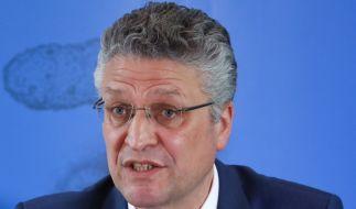 Ständig unter Beobachtung: Der Leiter des Robert-Koch-Instituts Lothar Wieler (Foto)