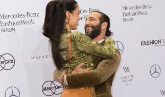 """Profitänzer Massimo Sinato und Model Rebecca Mir lernten sich 2012 bei """"Let's Dance"""" kennen und lieben. (Foto)"""