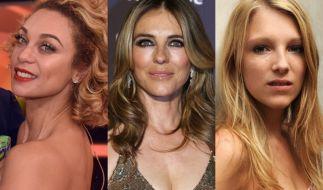Lilly Becker, Liz Hurley und Iris-Mareike Steen gehörten zu den frechsten Promi-Nackedeis der Woche. (Foto)
