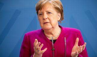 Auch die Twitter-User verfolgten die Rede von Angela Merkel konzentriert. (Foto)
