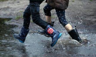 Während der Monat April vielerorts zu trocken war, steht der Mai mit großen Regenmengen in den Startlöchern. (Foto)