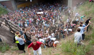 Das Gerichtsverfahren zum Loveparade-Unglück 2010 ist eingestellt worden. (Foto)