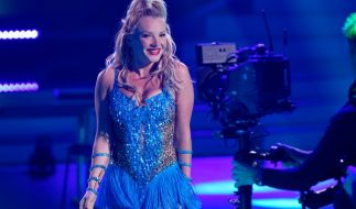 "Evelyn Burdecki bei ""Let's Dance"". (Foto)"