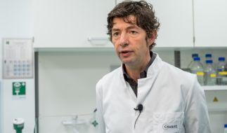 Christian Drosten, Direktor des Instituts für Virologie an der Charité in Berlin, übt Kritik an der Politik. (Foto)