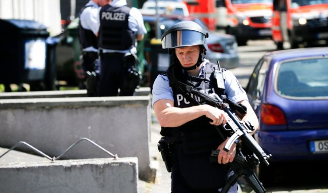 Schüsse am Kölner Neumarkt