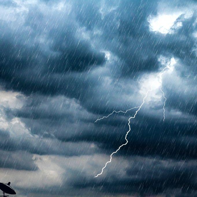 Hochwasser-Alarm! Wetterdienst warnt vor Starkregen (Foto)