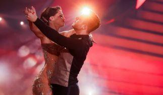 "Christina Luft tanzt bei ""Let's Dance"" mit Sänger Luca Hänni. (Foto)"