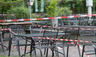 In Deutschlands Biergärten, Kneipen und Gaststätten herrscht seit Wochen gähnende Leere. (Foto)