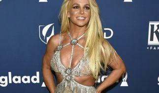 Britney Spears rekelt sich aktuell halbnackt in der Wüste. (Foto)