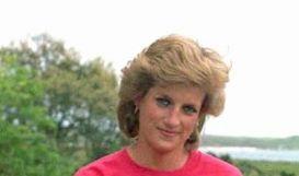 Prinzessin Diana mit ihrem Sohn Prinz Harry, aufgenommen 1989. (Foto)