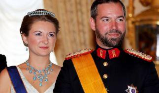 Erbgroßherzogin Stéphanie und Erbgroßherzog Guillaume von Luxemburg freuen sich über die Geburt ihres ersten gemeinsamen Kindes. (Foto)