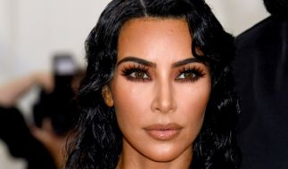 Kim Kardashian posiert nackt vor der Kamera. (Foto)