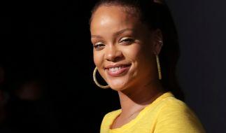 Rihanna feiert den zweiten Geburtstag ihrer Dessous-Marke. (Foto)