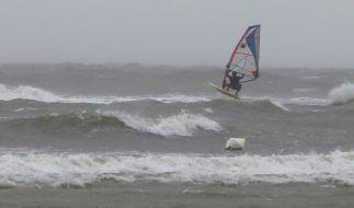 In der Nordsee kamen mindestens vier Surfer ums Leben. (Foto)