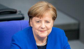 Bundeskanzlerin Angela Merkel (CDU) nahm an der Regierungsbefragung im Bundestag teil. (Foto)
