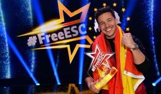 """Nico Santos gewann den """"Free ESC"""" für Spanien. (Foto)"""