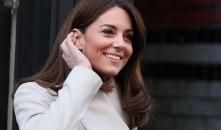 Kate Middleton hat allen Grund zur Freude. (Foto)