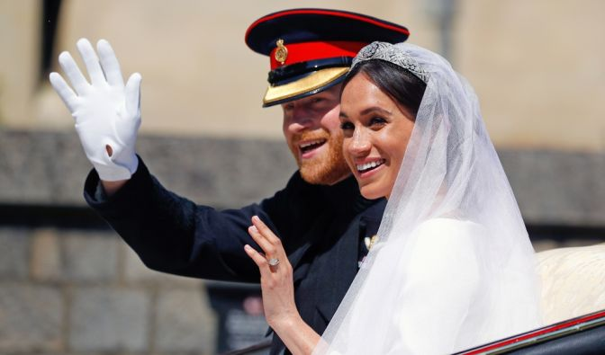 Meghan Markle und Prinz Harry in Royal-News