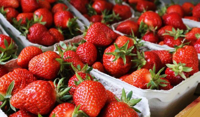Erdbeeren waschen oder nicht?