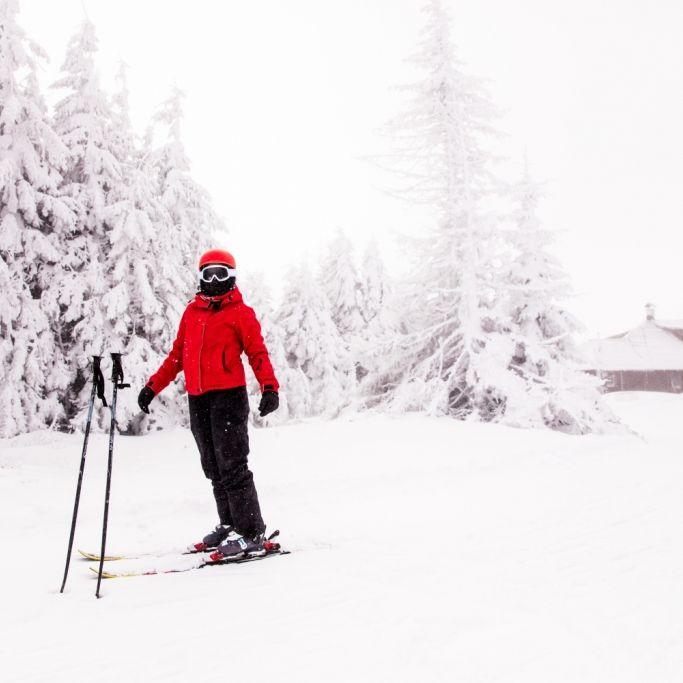 Skistock in Wade gerammt! So geht's der Skilangläuferin jetzt (Foto)