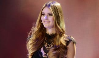 """Stefanie Giesinger beim Finale von """"Germany's Next Topmodel"""" 2014. (Foto)"""