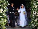Meghan Markle und Prinz Harry heirateten im Mai 2018. (Foto)