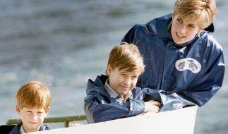 Prinzessin Diana genoss jeden Augenblick mit ihren Söhnen William und Harry - die Baby-Tragödie in ihrer Familie konnte Lady Di so vergessen. (Foto)