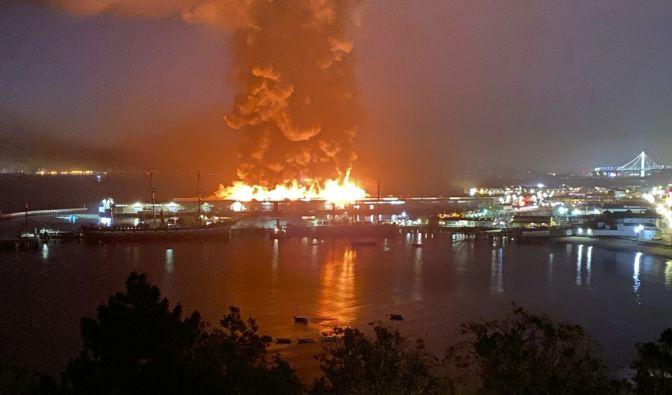 Großbrand in San Francisco