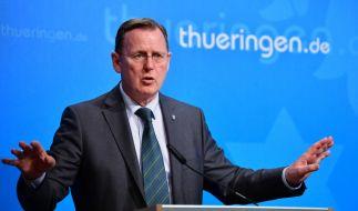 Thüringen will die Corona-Beschränkungen aufheben. Damit hagelt es für Bodo Ramelow Kritik. (Foto)