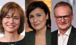 Die öffentlich-rechtlichen Polittalker Maybrit Illner, Sandra Maischberger und Frank Plasberg verabschieden sich in ihren diesjährigen Sommerurlaub. (Foto)