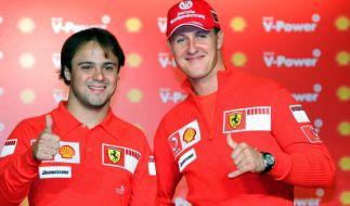 Felipe Massa ist einer der wenigen, die wissen, wie es Michael Schumacher heute geht. (Foto)