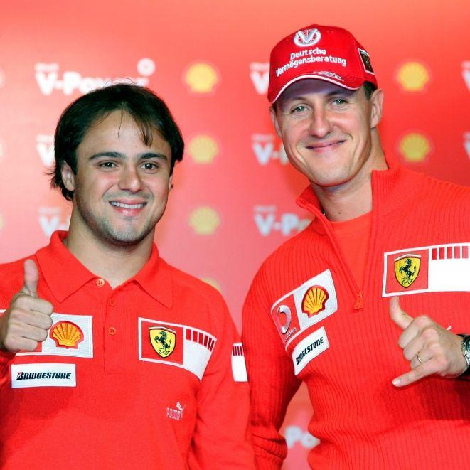 Ferrari-Kollege Felipe Massa spricht Klartext! Wie geht es Schumi jetzt? (Foto)