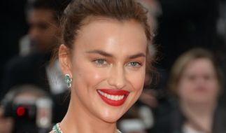 Das russische Model Irina Shayk bei einem Auftritt in Cannes. (Foto)