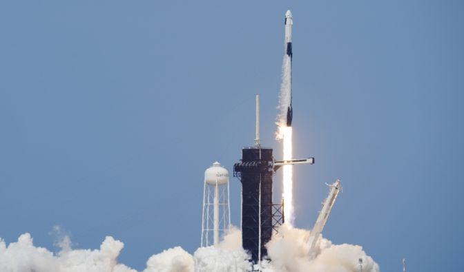 SpaceX-Raketenstart