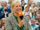 "Andrea Kiewel moderiert auch anno 2020 den ""ZDF-Fernsehgarten"". (Foto)"
