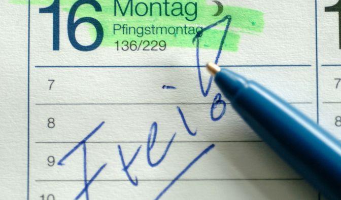 Pfingsten in Deutschland 2020