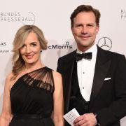 Sophia und Steffen Seibert beim 67. Bundespresseball 2018 in Berlin. (Foto)