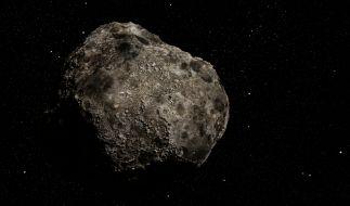 Gleich sechs Asteroiden fliegen am Wochenende sehr nah an der Erde vorbei. (Foto)
