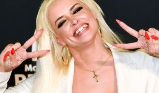 Daniela Katzenberger sorgt nicht nur im TV für Lacher. (Foto)
