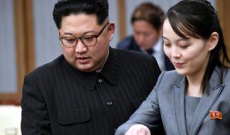 Hat Kim Jong UIns Schwester Kim Yo Jong seine Regierungsgeschäfte übernommen? (Foto)