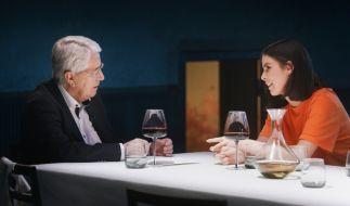 Frank Elstner im Gespräch mit Lena Meyer-Landrut (Foto)