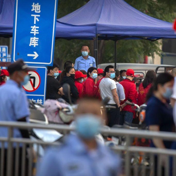 Neue Covid-19-Fälle in China! Angst vor 2. Corona-Welle wächst (Foto)