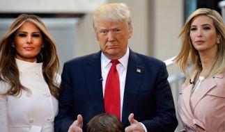Melania Trump hatte angeblich Differenzen mit Ivanka Trump. (Foto)